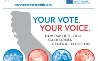 California Easy Voter Guide 2016