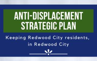 Redwood City Anti-Displacement Stratgic Plan Logo